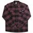 Dickies Sacramento Long Sleeve Flannel Shirt Plum