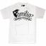 Famous Stars and Straps Familia T-shirt White Black