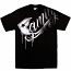 Famous Stars and Straps Family Fade T-shirt Black White