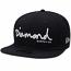 Diamond Supply Co OG Script New Era Fitted Baseball Cap Navy