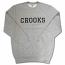 Crooks & Castles Repps Sweatshirt Grey