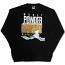 Mafioso Powder Sweatshirt Black