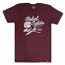 Rebel8 Rose And Daggers T-shirt Burgundy
