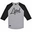 Lrg RC Three Quarter Sleeve Raglan Baseball T-Shirt Black