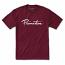 Primitive Apparel Nuevo Script T-Shirt Burgundy