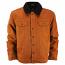 Dickies Glenside Fleece Lined Jacket Brown Duck