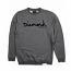 Diamond Supply Co OG Script Core Sweatshirt Gunmetal