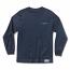 Diamond Supply Co Stone Cut Long Sleeve T-shirt Navy