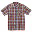 Lrg RC Plaid Short Sleeve Woven Shirt Ash