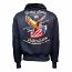 Top Gun Eagle CW45 Bomber Jacket Navy