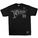 Famous Stars and Straps 99 Pendant T-Shirt Black Grey