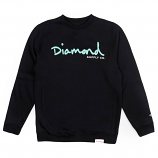 Diamond Supply Co OG Script Core Sweatshirt Black