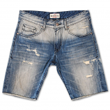 Rivet De Cru Sky Dream Blue Denim Shorts