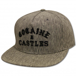 Crooks & Castles Cocaine Castles Snapback Black