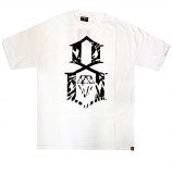 Rebel8 Tie Dye Logo T-shirt White