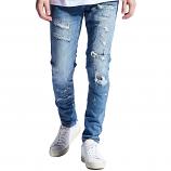 Embellish Snyder Denim Jeans Blue