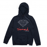 Diamond Supply Co OG Sign Core Hoodie Navy