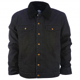 Dickies Glenside Sherpa Fleece Lined Jacket Black