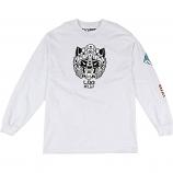 Lrg Panda Mech L/S T-Shirt White