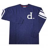 Diamond Supply Co DMND Un-Polo Long Sleeve T-Shirt Navy