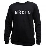 Brixton Murray Sweatshirt Washed Black