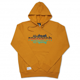 Lrg Upside Down Pullover Hoodie Inca Gold