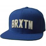 Brixton Hamilton Snapback Cap Blue