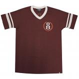 Rebel8 Laurels Jersey T-Shirt Burgundy