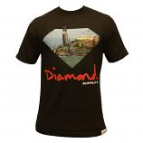 Diamond Supply Co YCSF T-shirt Black