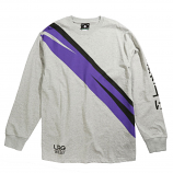 LRG Energy Crew Long Sleeve Knit T-Shirt Athletic Heather
