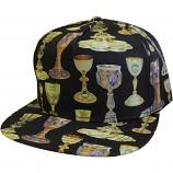 Crooks & Castles Holy Grail Snapback Cap Black