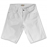 Rivet De Cru Snow White Denim Shorts