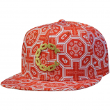 Crooks & Castles Thuxury Chain C Venetian Strapback Baseball Cap True Red