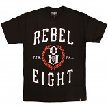 Rebel8 Laurels T-shirt Black