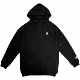 Grizzly Griptape Mountain High Pullover Hoodie Black