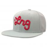 LRG Snapback Hat Ash