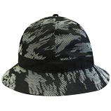 Crooks & Castles Illusive Bucket Hat Black Multi
