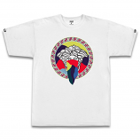 Crooks & Castles Tropic Bandido T-shirt White