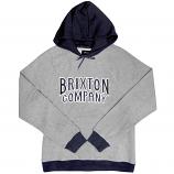Brixton Bailey Pullover Hoodie Grey