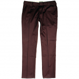 Dickies C182 Slim Fit Chino Trousers Burgundy