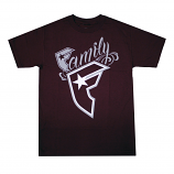 Famous Stars and Straps New Wildcat T-shirt Burgundy