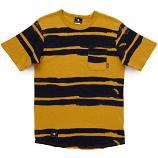 Lrg Kubasa Scoop Knit T-shirt Warrior Yellow
