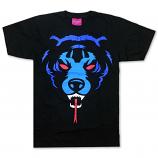 Mishka Death Adder T-Shirt Black Blue