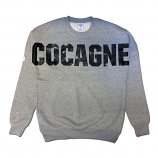 Crooks & Castles Coca Dolman Sweatshirt Heather Grey