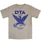 DTA RS Birdshow T-Shirt Silver Blue