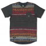 Lrg Salazar Scalloped T-shirt Black Heather