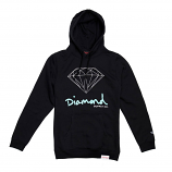 Diamond Supply Co OG Sign Core Hoodie Black