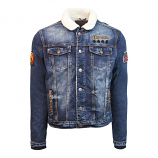 Top Gun Lined Denim Jacket