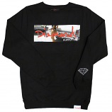 Diamond Supply Co Cali Life Sweatshirt Black