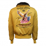 Top Gun Eagle CW45 Bomber Jacket Wheat